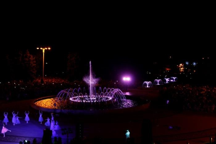 Светомузыкальный фонтанный комплекс